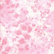 Moda - Sakura Park - 7191 - Pink Watercolour Blossoms - 33484-12 - Cotton Fabric